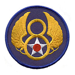 Eighth Air Force (8th AAF) Shoulder Patch