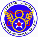Oregon Chapter 8th AFHS Membership Patch
